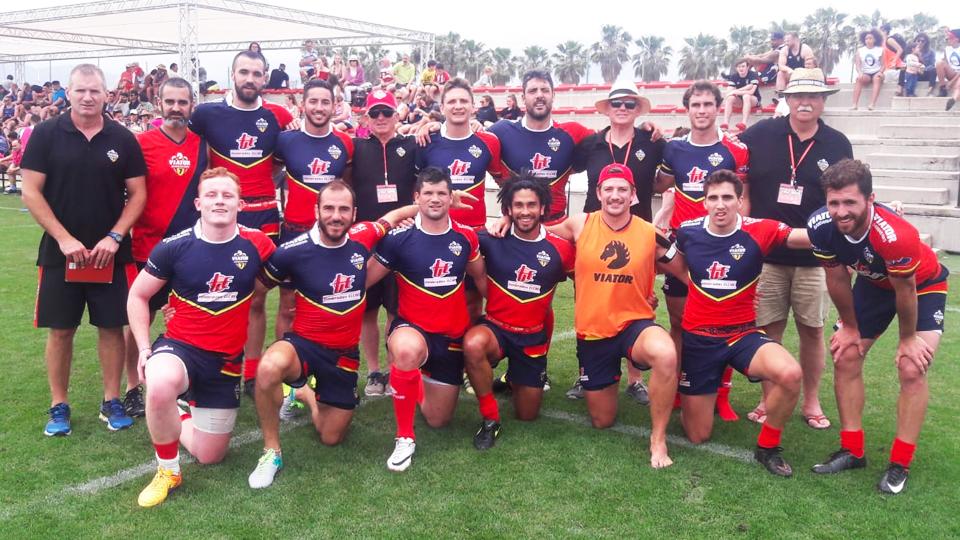Viator Barbarians Campeones Del Valencia Rugby Festival